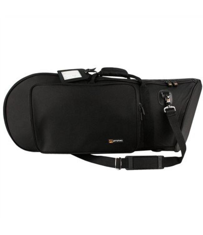 Protec EUPHONIUM BAG (BELL FORWARD) - GOLD SERIES BLACK