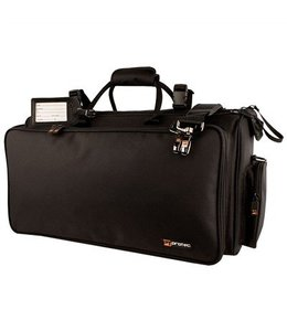 Protec Protec Triple Horn Bag w/ Mute Bag Gold Series Black