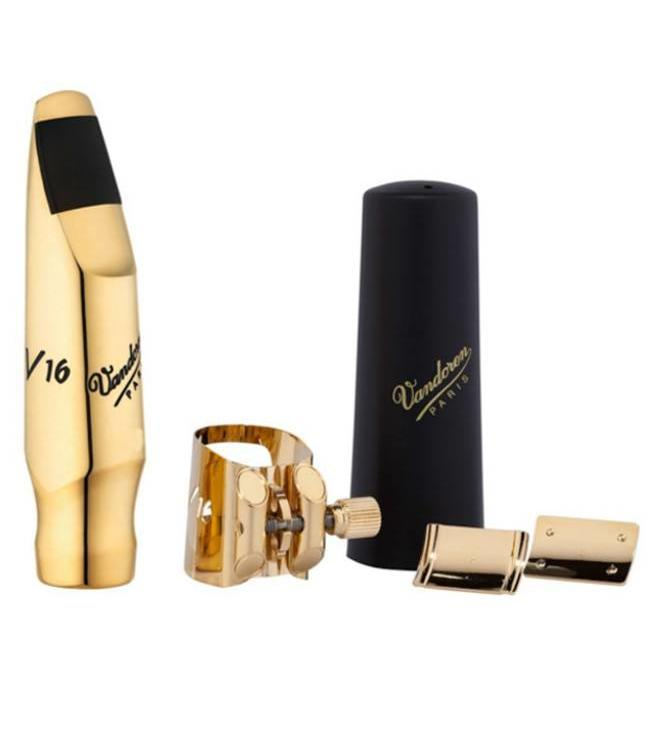 Vandoren V16 Series Tenor Saxophone Mouthpiece & Ligature Kit-Metal
