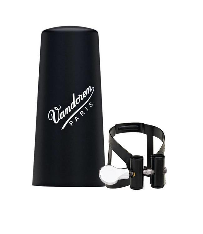 Vandoren Vandoren M/O Series Ligature & Plastic Cap Set Alto Clarinet