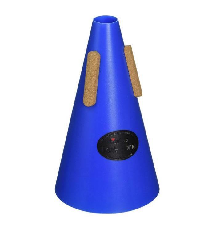 Mutec Trumpet - Straight - Blue Polymer