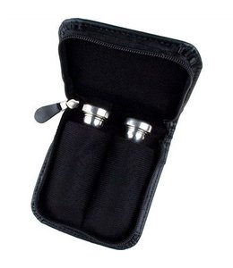 Protec SMALL BRASS 2 PIECE LEATHER MOUTHPIECE POUCH BLACK