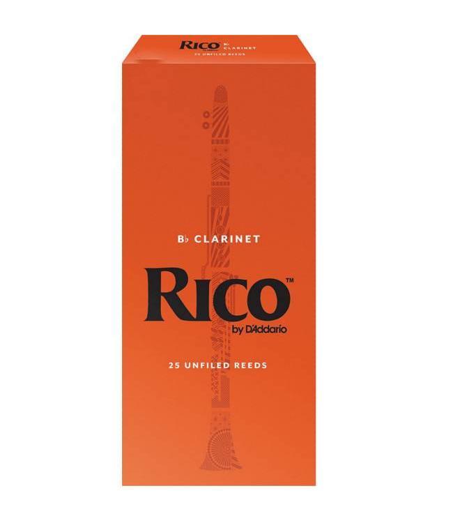 Rico Rico Clarinet Reeds Box of 25