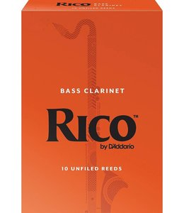 Rico Rico Bass Clarinet Reeds Pack of 25