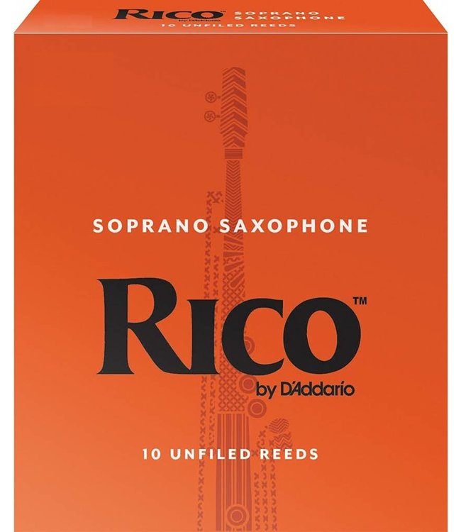 Rico Rico Soprano Sax Reeds Pack of 10