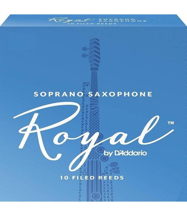 Rico Rico Royal Soprano Sax Reeds, Pack of 10