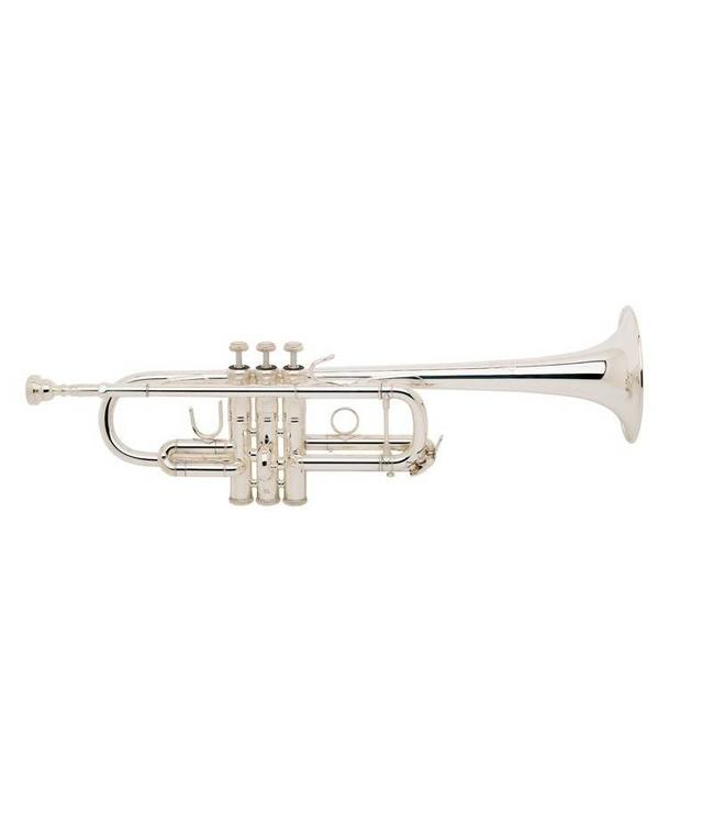 Bach Bach 229/25H C Trumpet Silver Plate