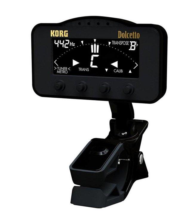 Korg Korg Dolcetto Clip-On Tuner/Metronome