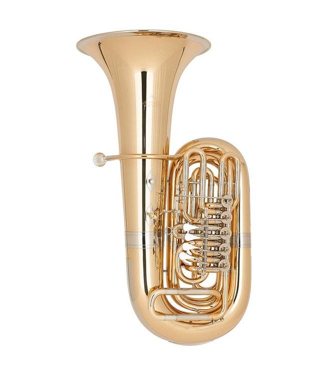 Miraphone Miraphone BB187-5V-GB Gold Brass Rotor Tuba
