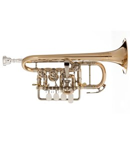 Scherzer Scherzer 8111L Bb/A Rotary Piccolo Trumpet in Lacquer