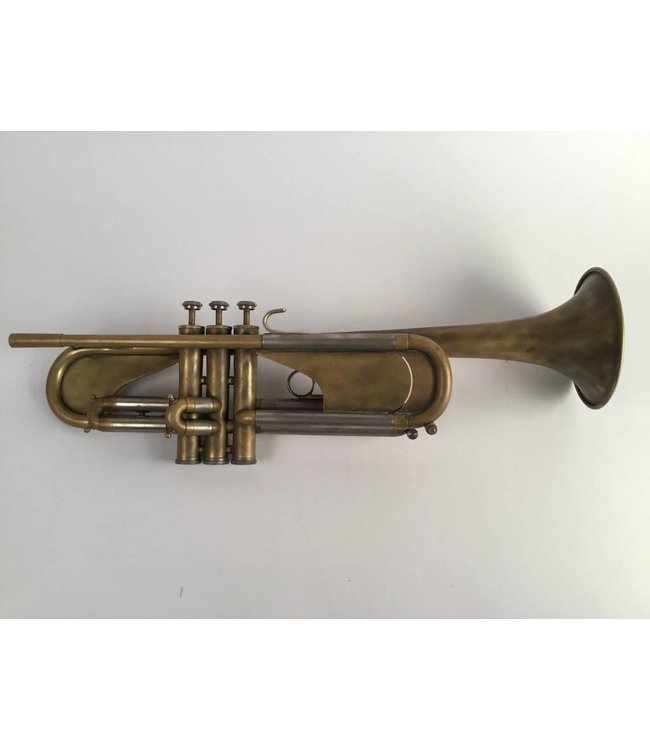 Blessing Used Blessing B-125 student trumpet in raw brass