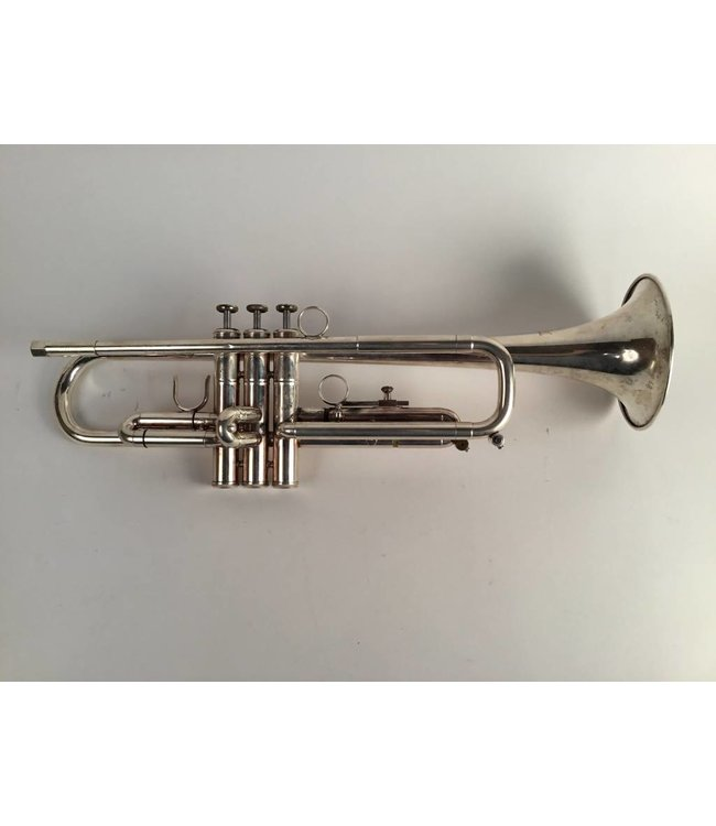 Jaeger Used Jaeger (New York) Diamond model Bb Trumpet in silver plate