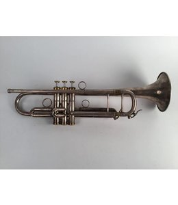 Kromat Used Kromat piston Bb trumpet in silver plate