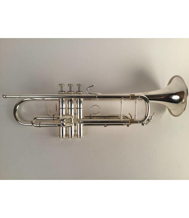 B&S Used B&S Challenger II BE3137/2-2 Demo model Silver Plate Bb Trumpet