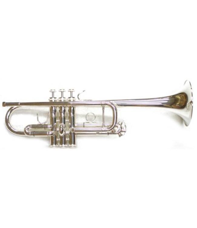 Dillon Music Dillon C Trumpet Silver Plate
