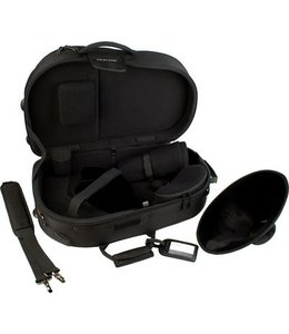 Protec Protec Screw Bell French Horn Deluxe Pro Pac Case Black