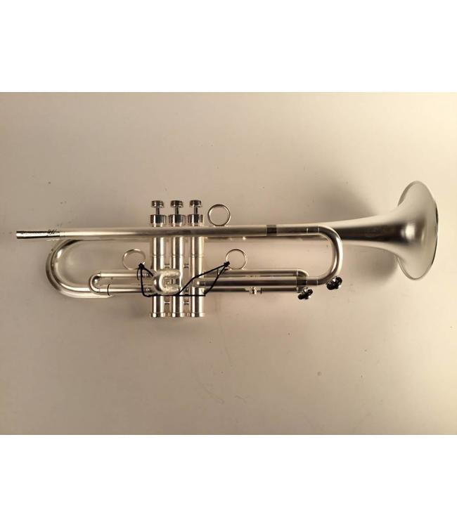Harrelson Used Harrelson Summit 2015.P2 Bb trumpet in brushed silver finish w/ polished trim