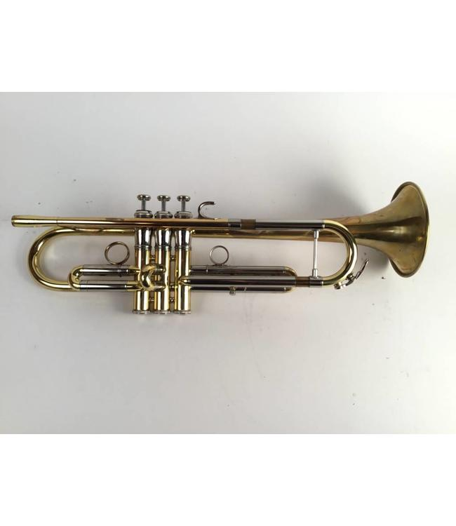Jupiter Used Jupiter 1600I Bb trumpet in lacquer/raw brass