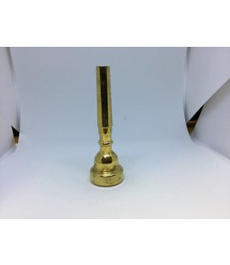 Curry Used Curry 1BC trumpet mouthpiece, gold plate
