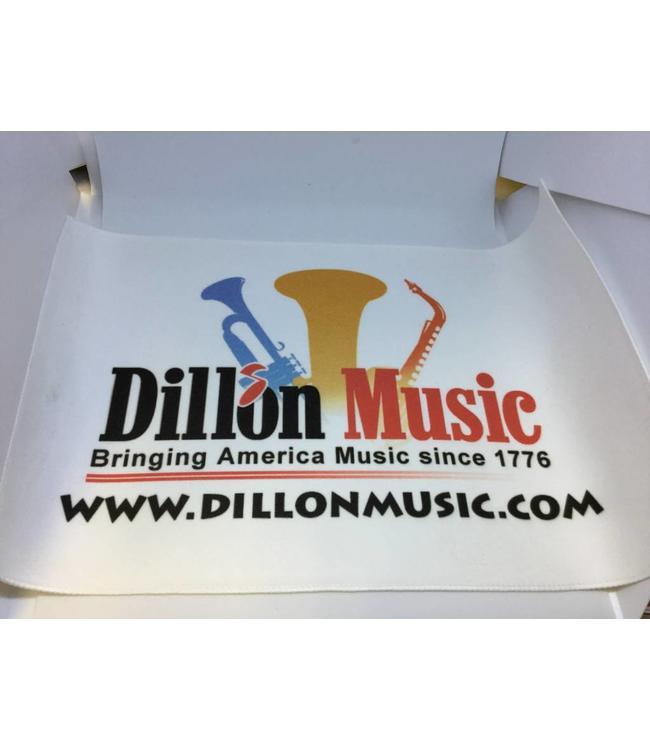 Dillon Music Dillon Music Micro Fiber Cloth Stitched.