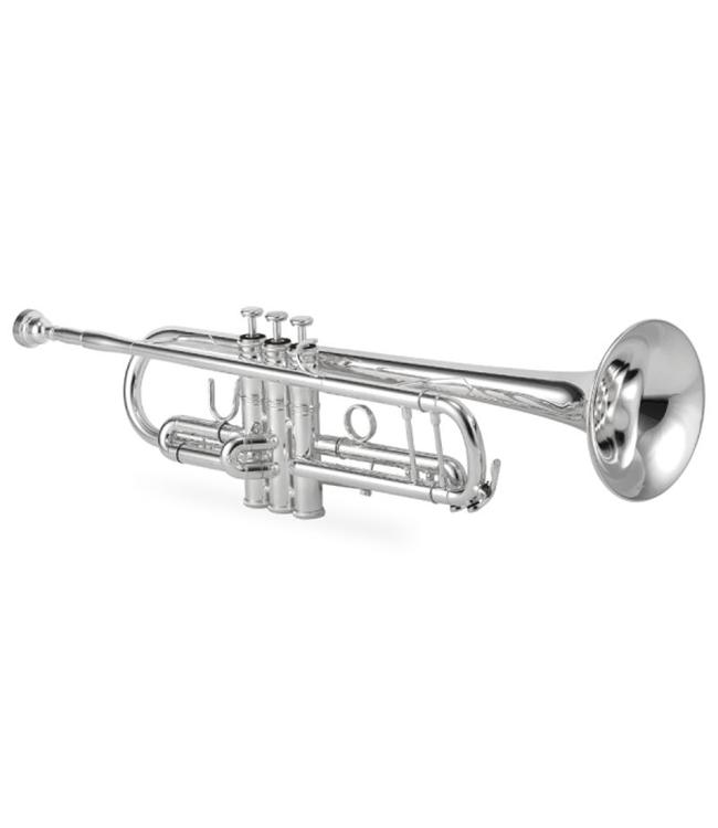 Jupiter Jupiter 1602S Bb Trumpet XO Model in Silver Plate
