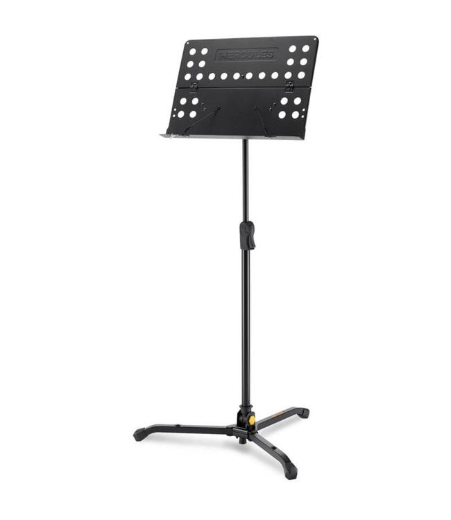 Hercules Hercules Orchestra Stand Perforated Desk w/ Swivel Legs