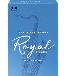 Rico Rico Royal Tenor Saxophone Reeds Pack of 10