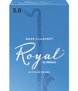 Rico Rico Royal Bass Clarinet Reeds Pack of 10