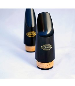 Ridenour Ridenour Hard Rubber Bass Clarinet Mouthpiece
