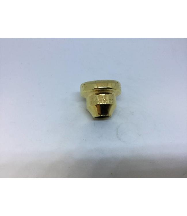 Wedge Mouthpieces Used Wedge 3C trumpet top, gold plate