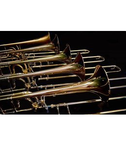 M&W Trombones M&W 322 Bb/F Tenor Trombone with Detachable Bell
