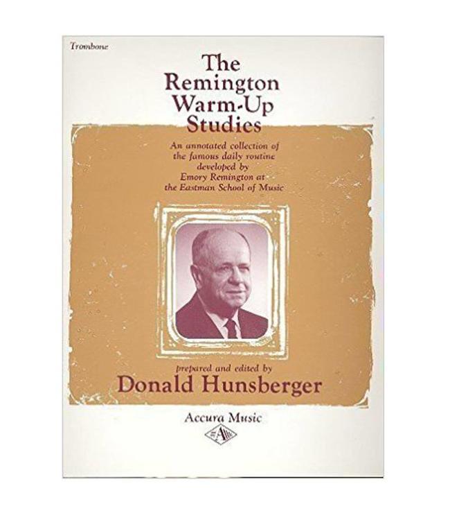 Remington Remington Warm-Up Studies for Trombone