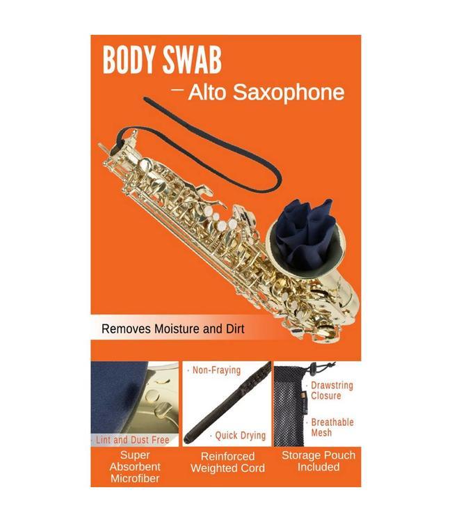 Protec Protec Body Swab: Alto Saxophone