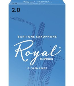 Rico Rico Royal Baritone Saxophone Reeds, Box of 10