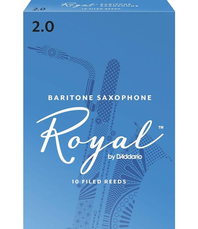 Rico Rico Royal Baritone Saxophone Reeds, Box of 10