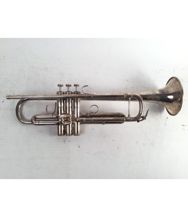 Shires Used Shires Model CLW Bb Trumpet in Silver Plate
