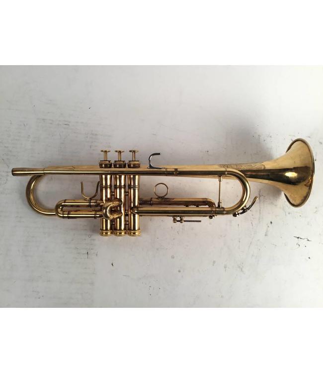 Jupiter Used Jupiter JTR-1602R Bb trumpet in gold plate