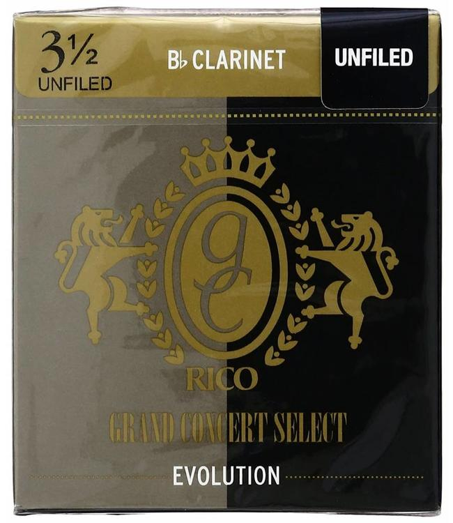 Rico Rico Grand Concert Select Evolution for Bb Clarinet, Box of 10