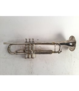 Benge Used Benge Claude Gordon (Los Angeles) Bb trumpet in silver plate.