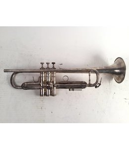 Benge Used  LA Benge 3X+ Bb trumpet in silver plate