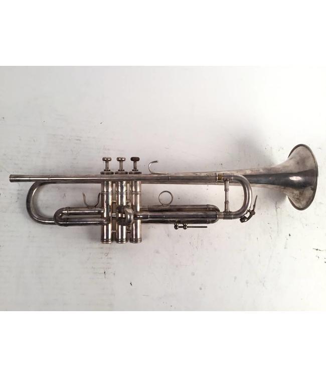 Benge Used  LA Benge 3X+ Bb trumpet in silver plate