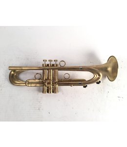 "Harrelson Used Harrelson ""Prototype 2015.4"" Summit BbTrumpet in brushed raw brass"