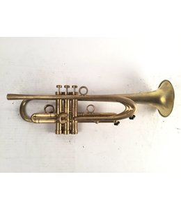 "Harrelson Used Harrelson ""Summit 2015.3"" Bb Trumpet in brushed raw brass"