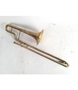 "Lyon & Healy Used Lyon & Healy ""A"" Slide Trumpet in lacquer"
