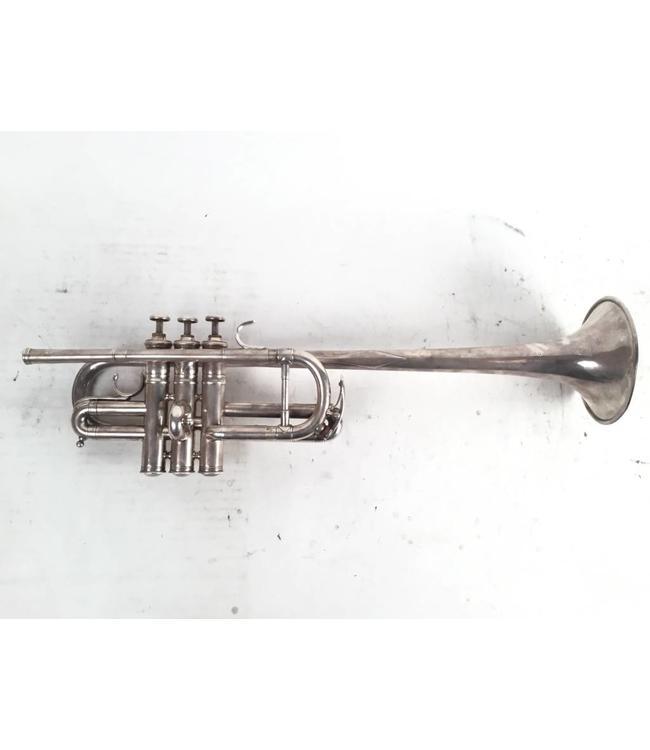 Buffet Used Evette & Schaeft Buffet Crampon long bell D Trumpet