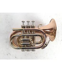 Miscellaneous Used unbranded Bb pocket trumpet