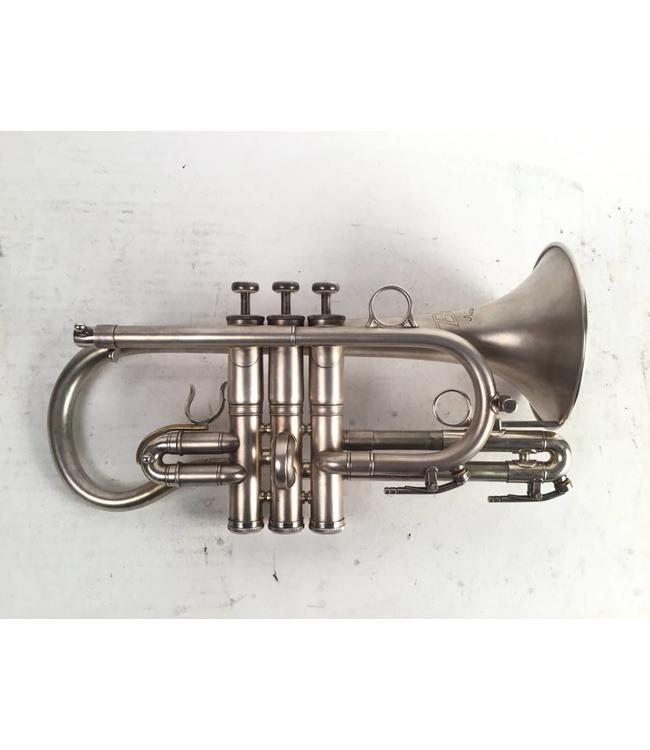 "Besson Used Besson ""New Standard"" Eb cornet"