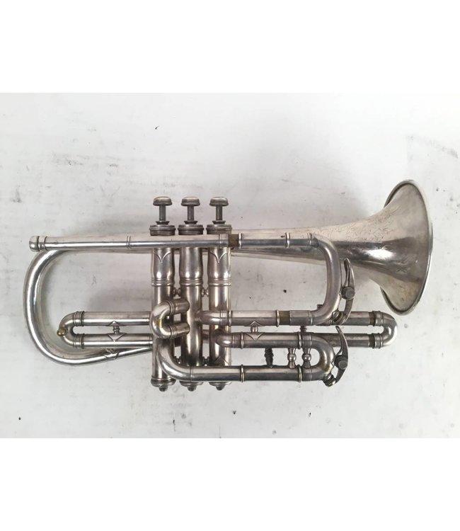 Conn Used Conn-Queror (circa 1902) Bb cornet