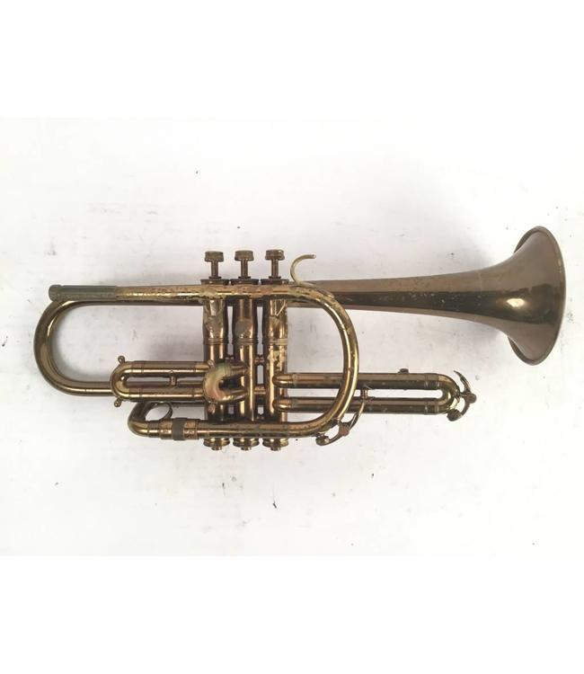 King Used H.N. White King Master model Bb cornet