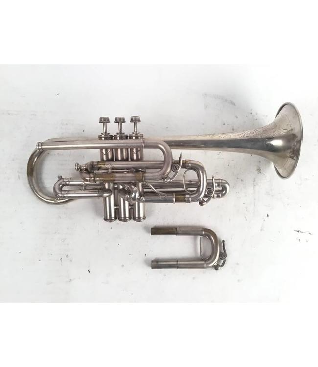 JW York and Sons Used JW York and Sons Bb Cornet